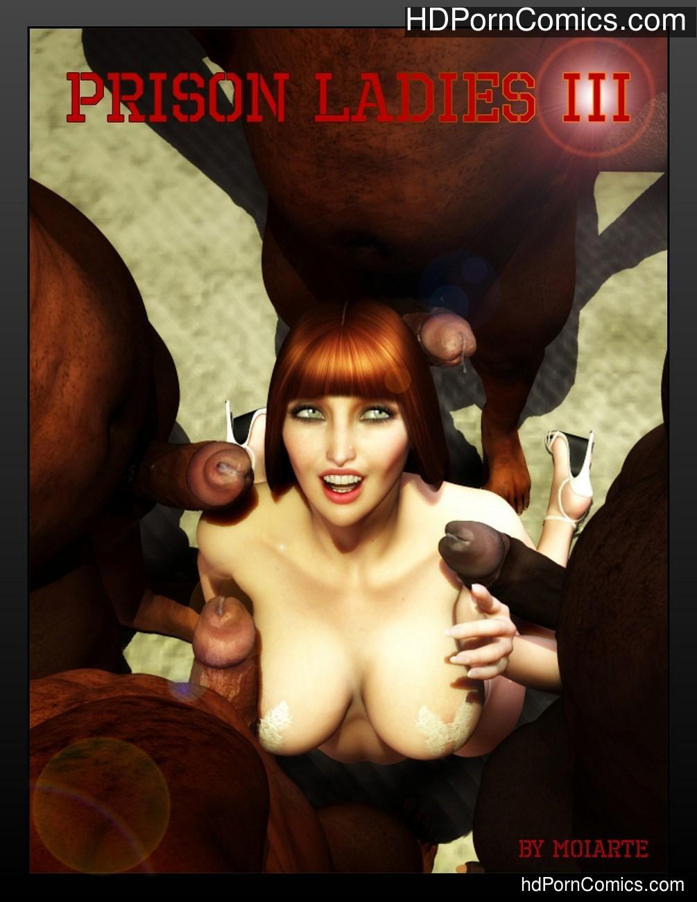 Prison Ladies 3 Sex Comic