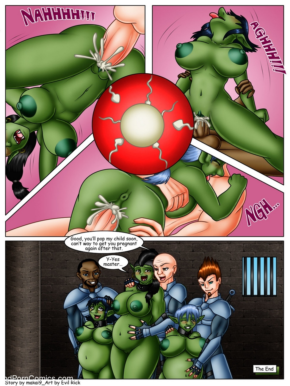 Prisoners Of War Sex Comic