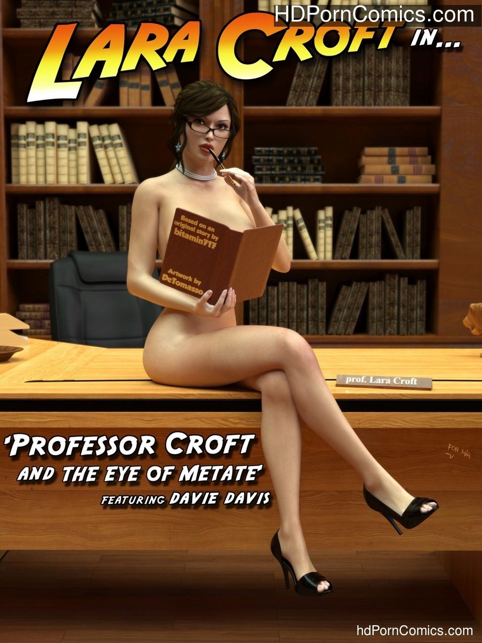 Professor Croft And The Eye Of Metate Sex Comic