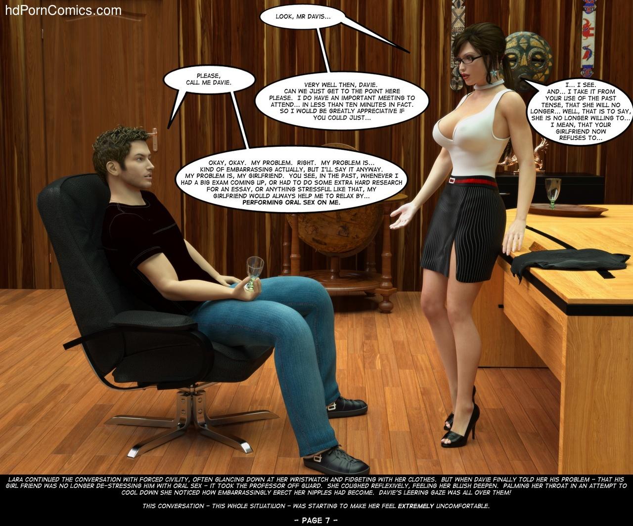 Hentai sex game meeting with big boobs teacher - 3 part 4