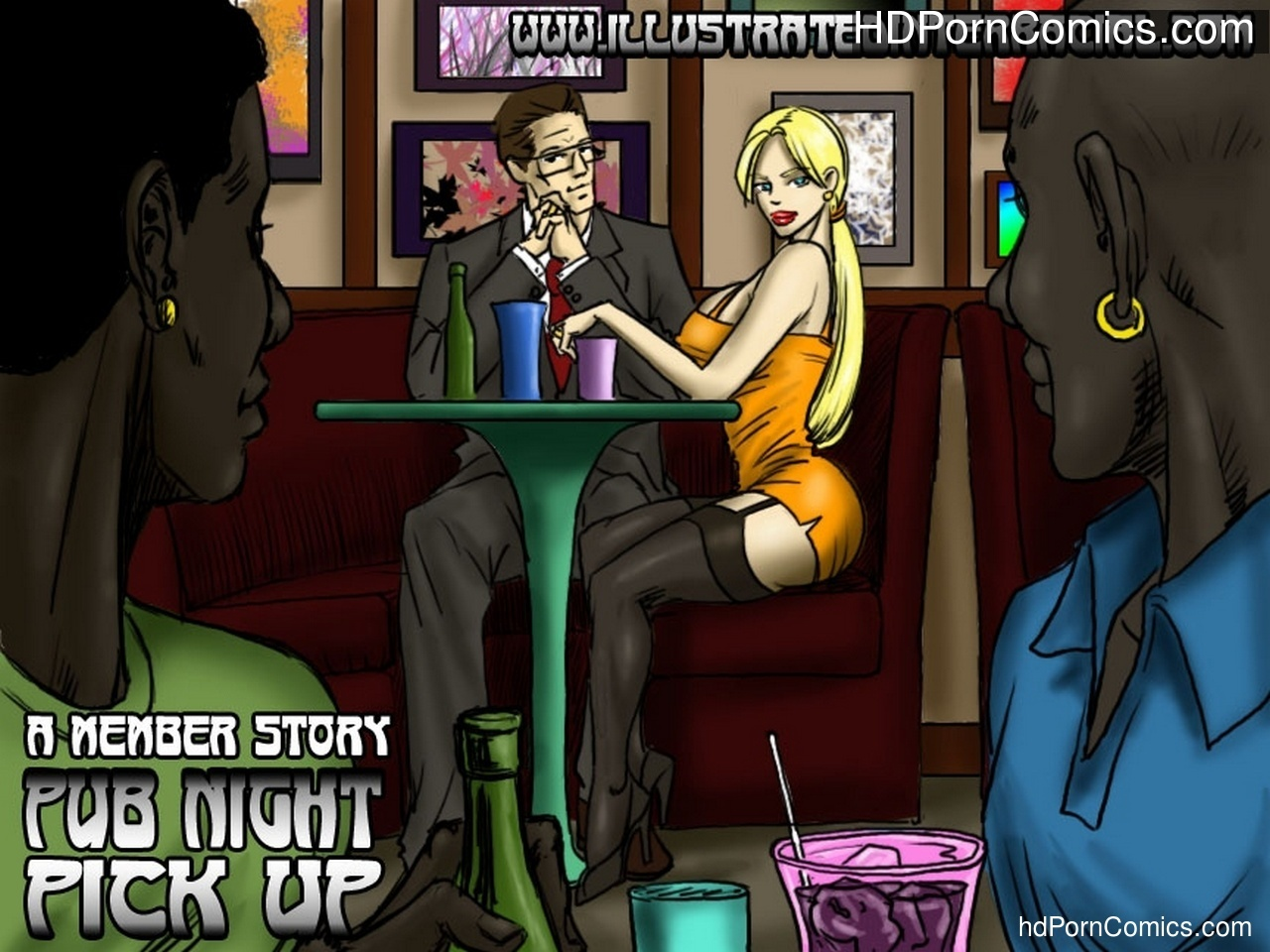 Pub Night Pick Up Sex Comic