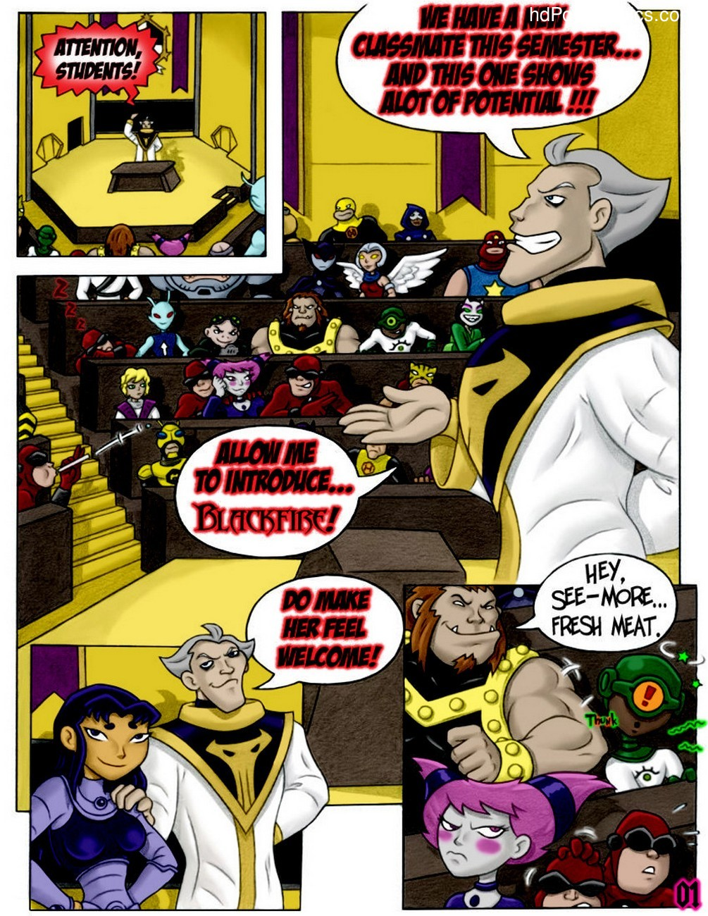 Queen Of The Hive 3 free sex comic