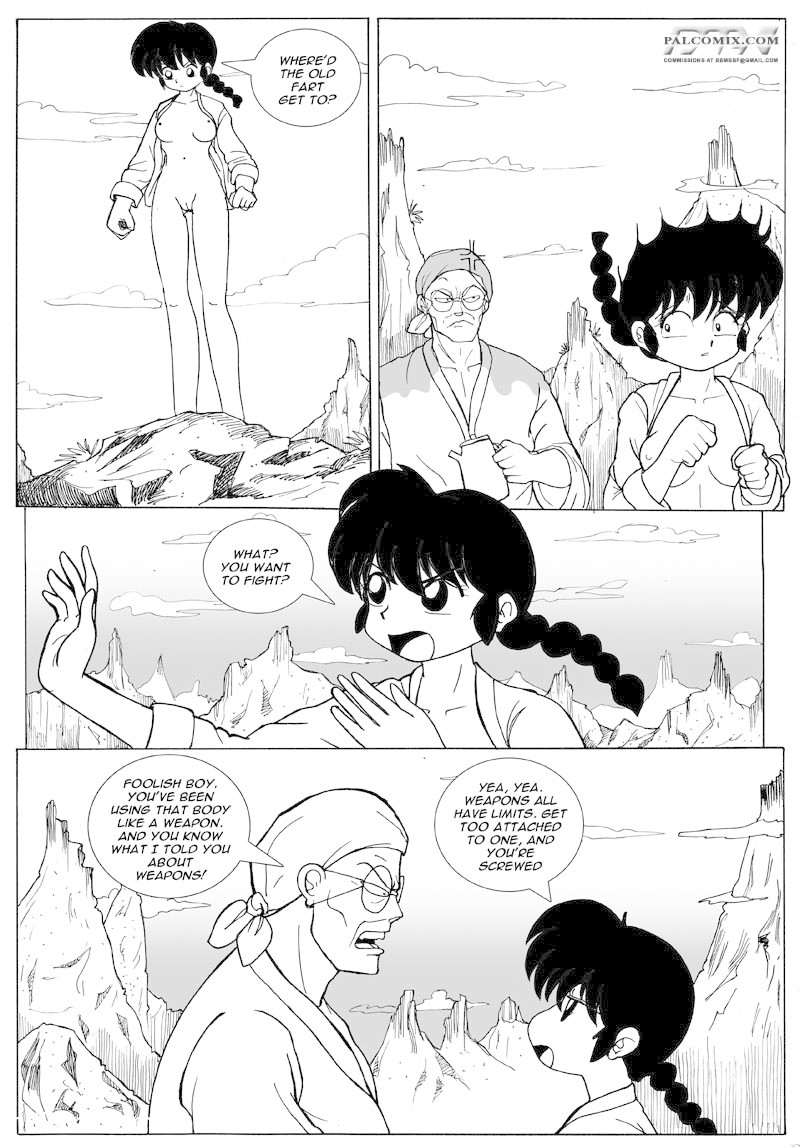 Ranma - Sometimes, the Bear gets you9 free sex comic