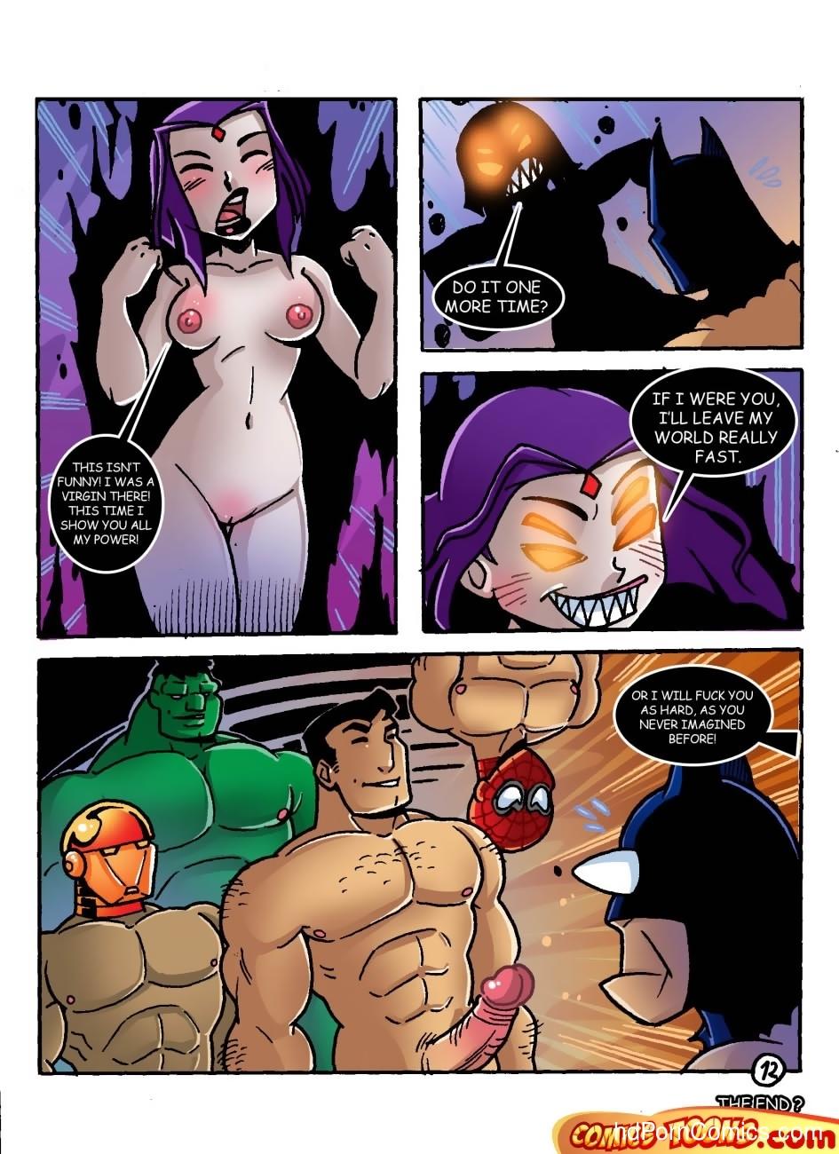 Raven's Dream Sex Comic