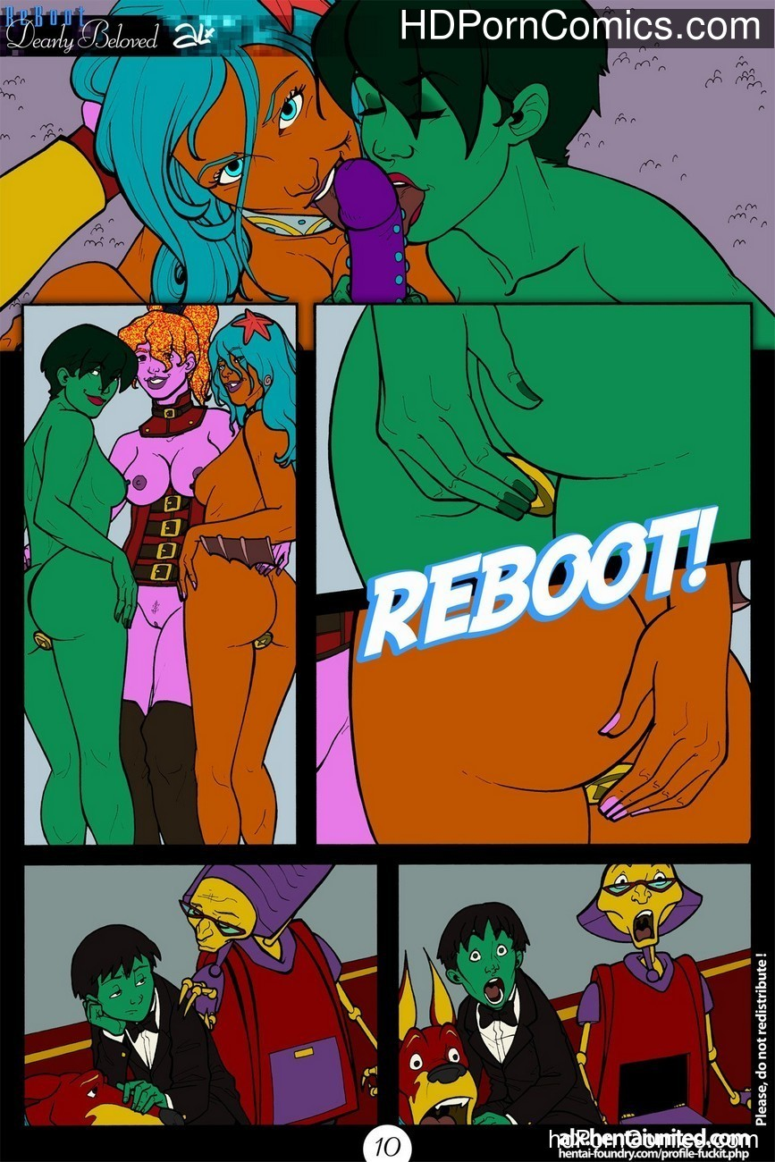 Reboot - Dearly Beloved 11 free sex comic