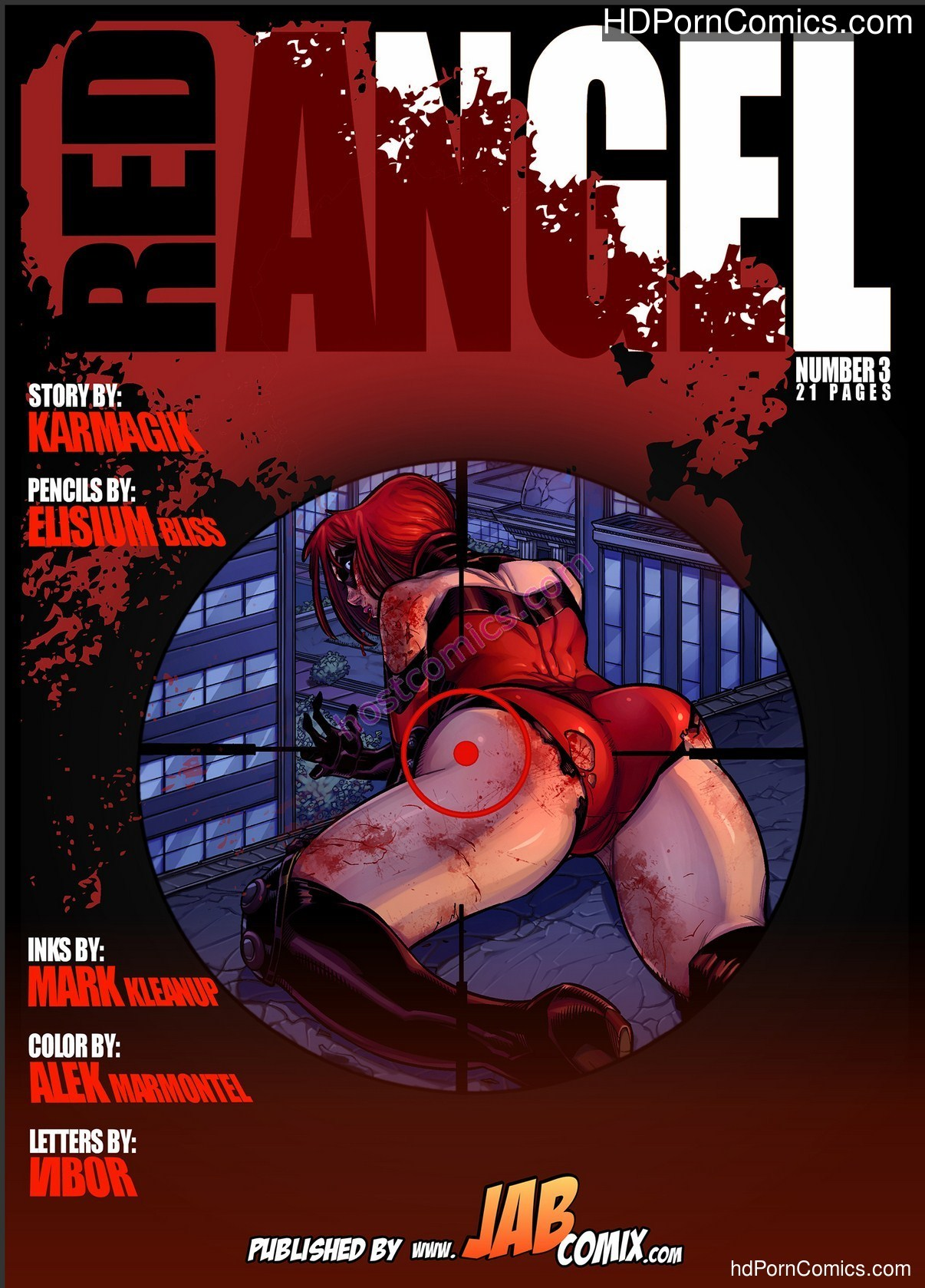 Red Angel 3 – Porncomics free Porn Comic