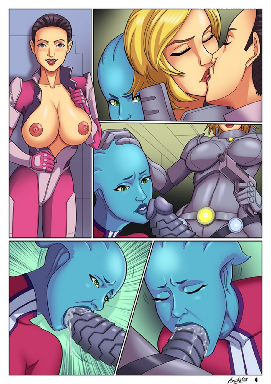 Renegade-Shepard6 free sex comic