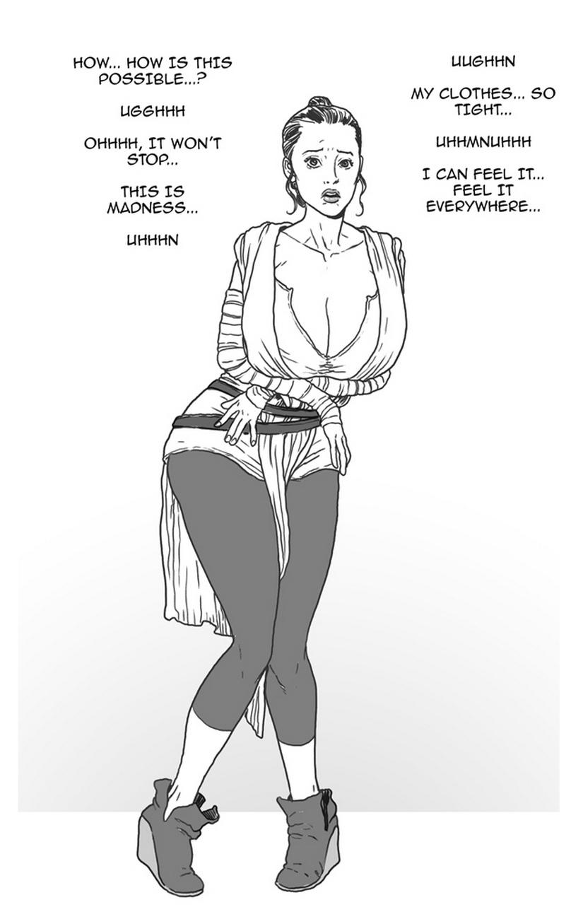 Rey VS The Bimbo Toxin 4 free sex comic