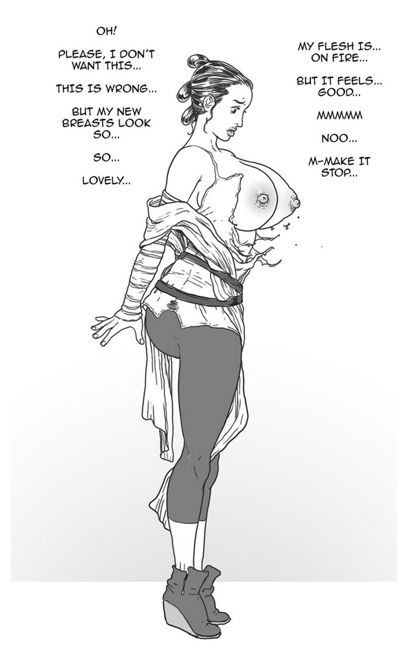 Rey VS The Bimbo Toxin 5 free sex comic