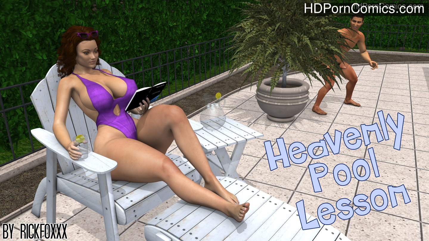 Rickfoxxx- Heavenly Pool Lesson free Cartoon Porn Comic