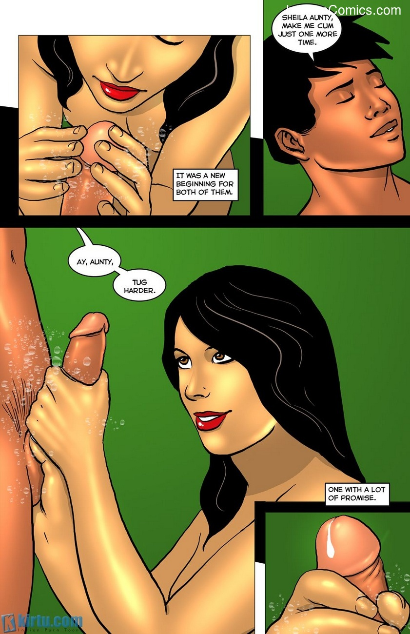 Rooftops 2 – Showing His Seed In Her Garden Of Eden Sex Comic