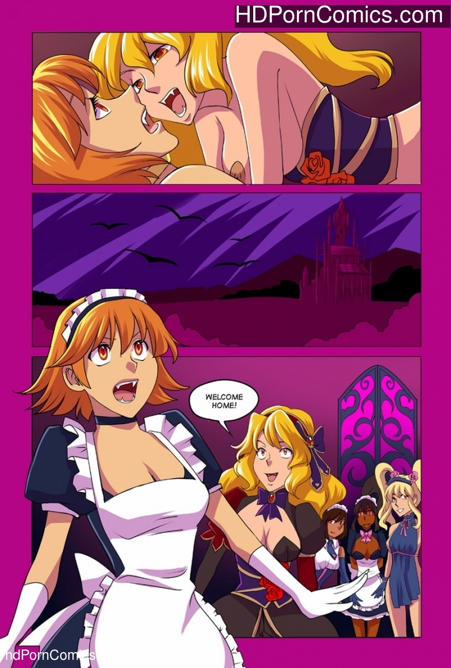 Rose Slayer 4 Sex Comic