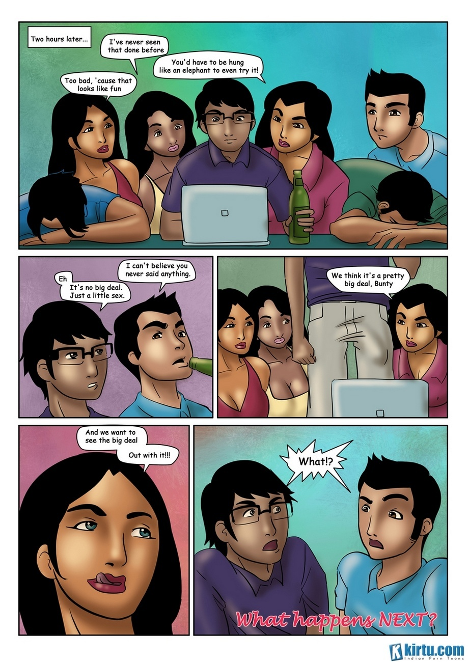 Saath Kahaniya 6 – Bunty – Internet Connection Sex Comic