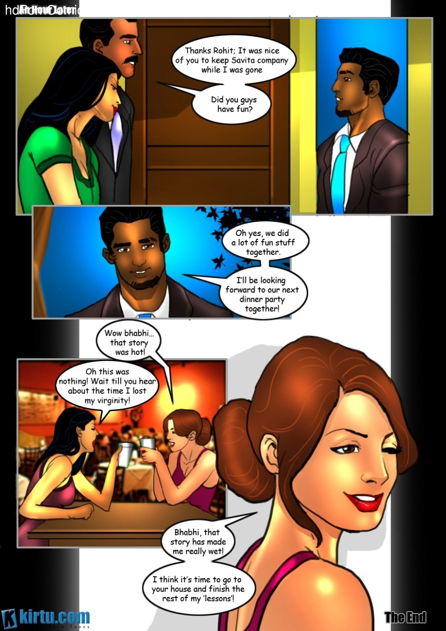 Savita Bhabhi 21 – A Wife's Confession Sex Comic