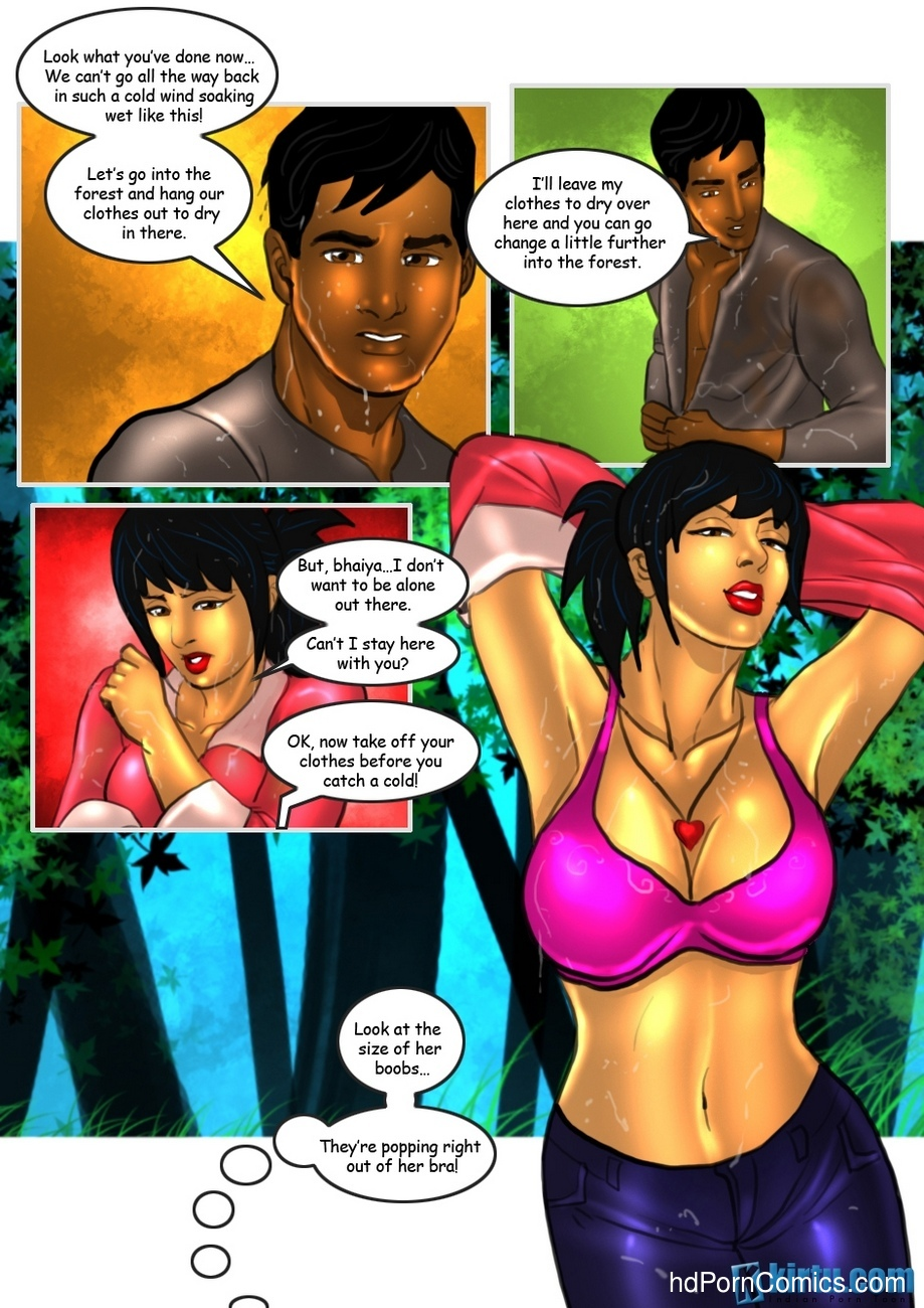 Savita Bhabhi 23 - Kissing Cousins 7 free sex comic