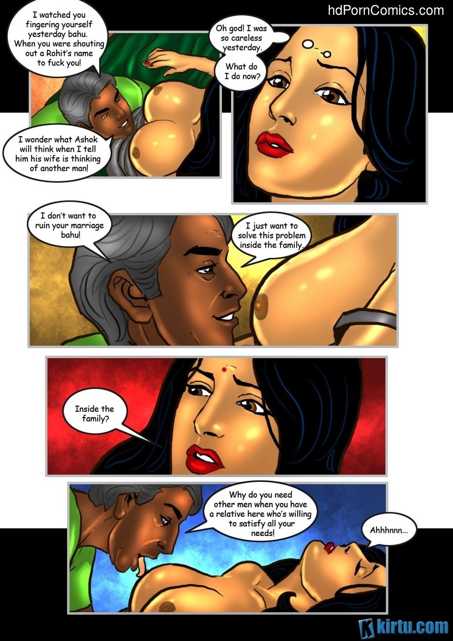 Savita Bhabhi 25 - The Uncle's Visit 18 free sex comic