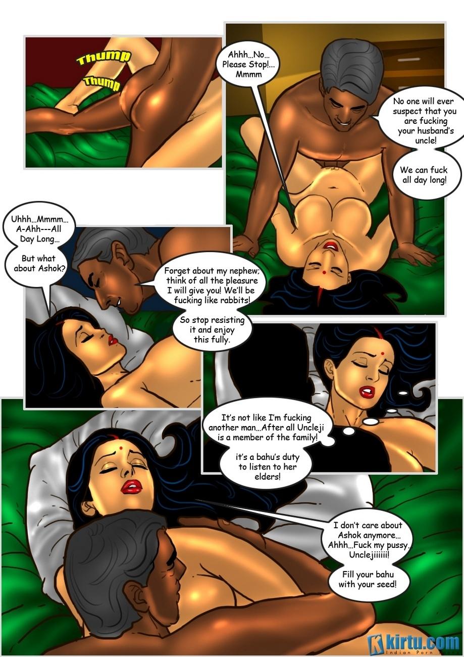Savita Bhabhi 25 - The Uncle's Visit 22 free sex comic