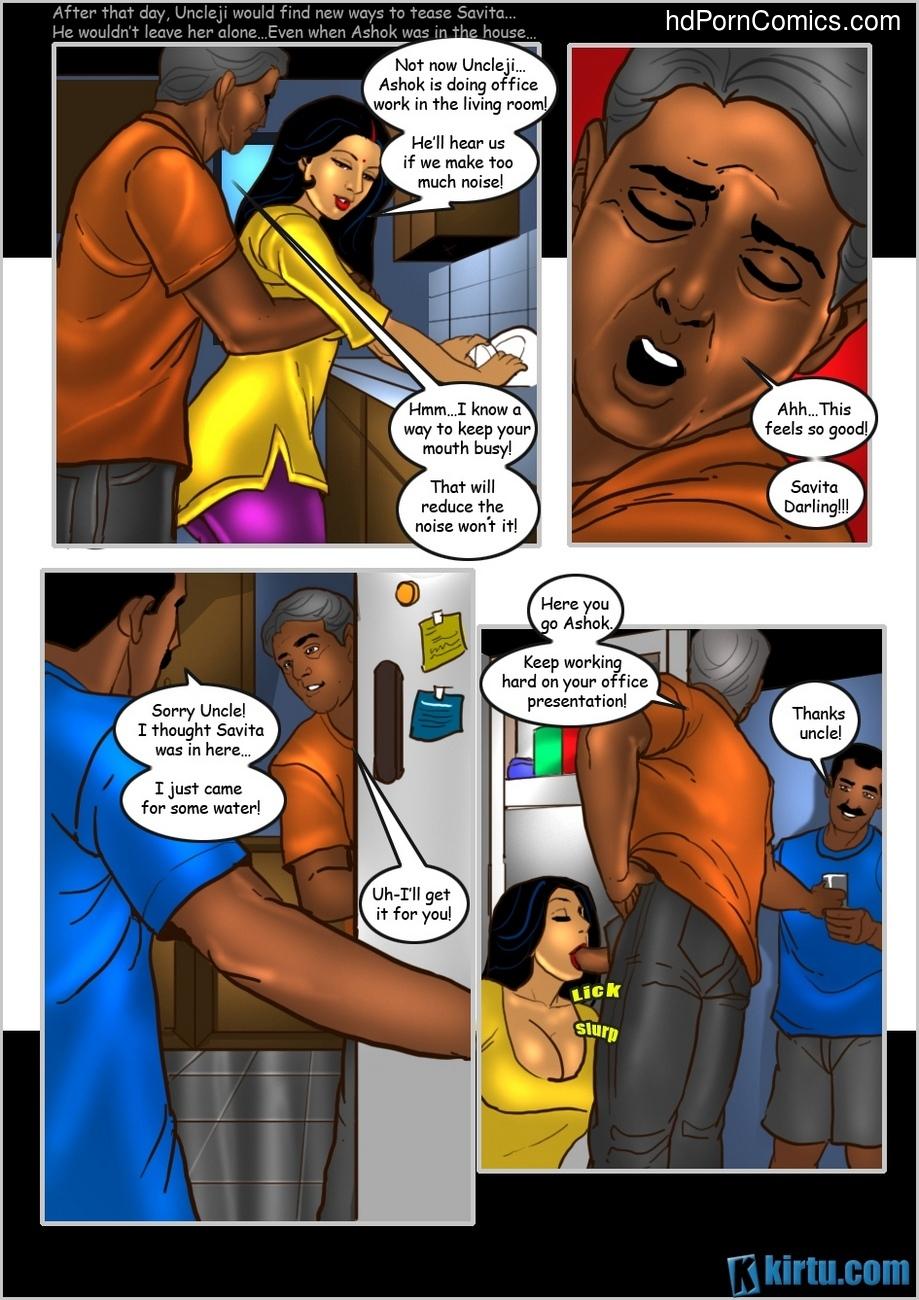 Savita Bhabhi 25 - The Uncle's Visit 25 free sex comic