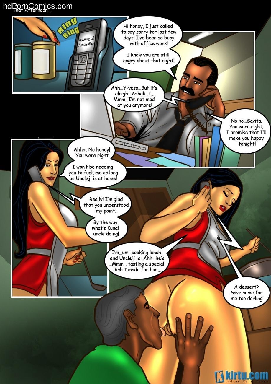 Savita Bhabhi 25 - The Uncle's Visit 29 free sex comic