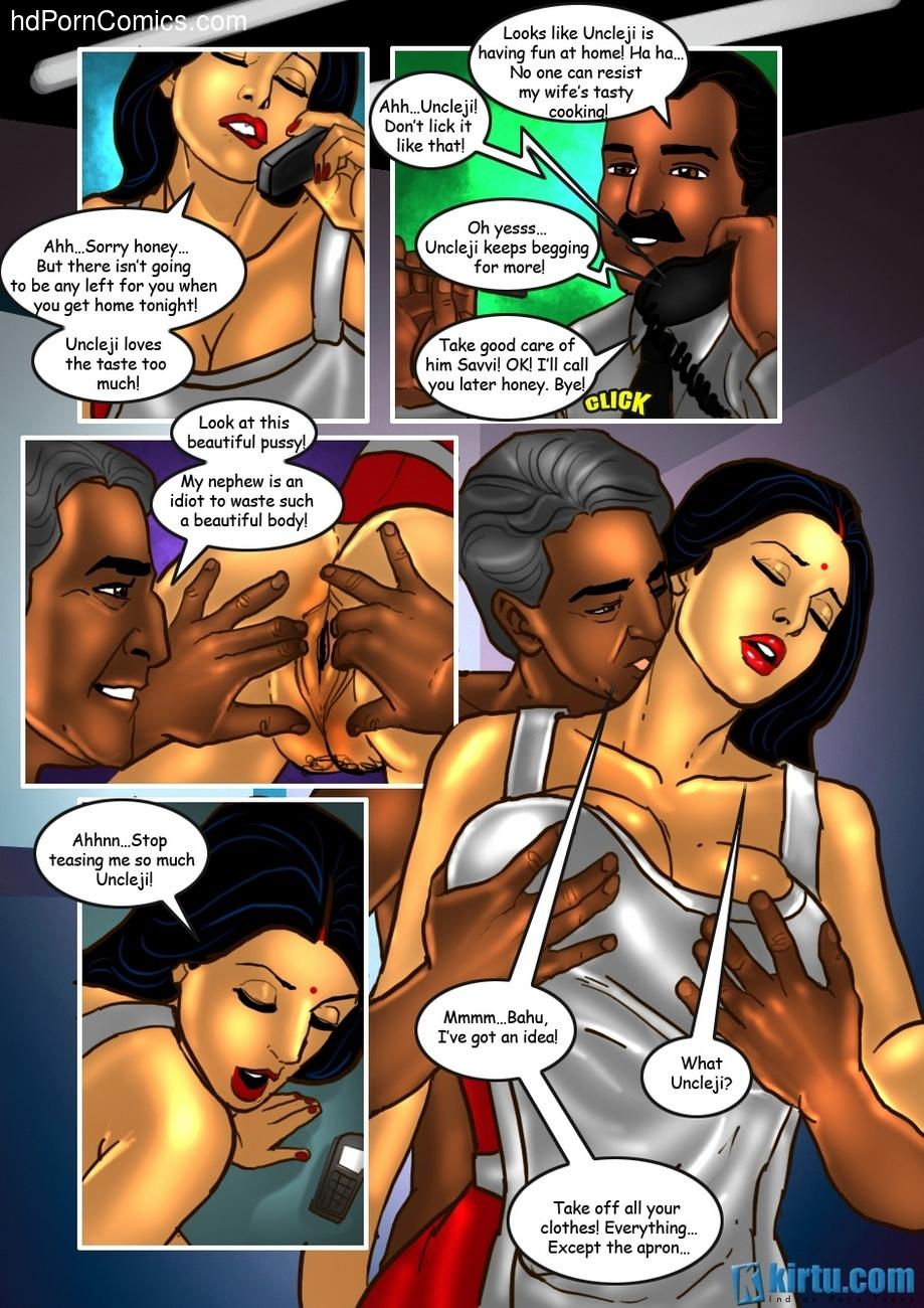 Savita Bhabhi 25 - The Uncle's Visit 30 free sex comic