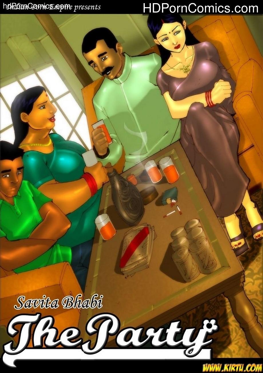 Savita Bhabhi 3 – The Party Sex Comic