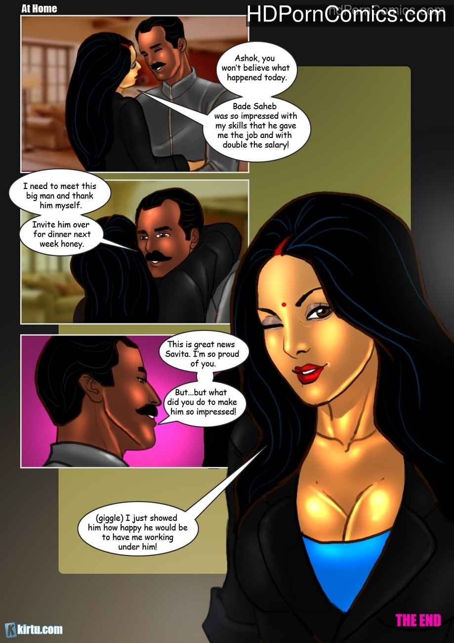 Savita Bhabhi 31 – Sexy Secretary 1 Sex Comic