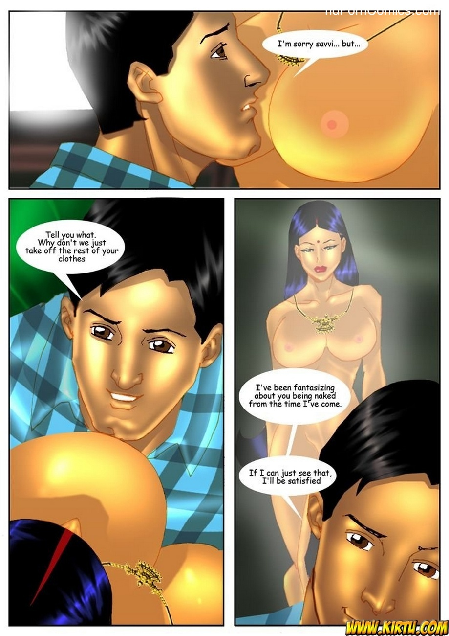 Savita Bhabhi 4 - Visiting Cousin 23 free sex comic