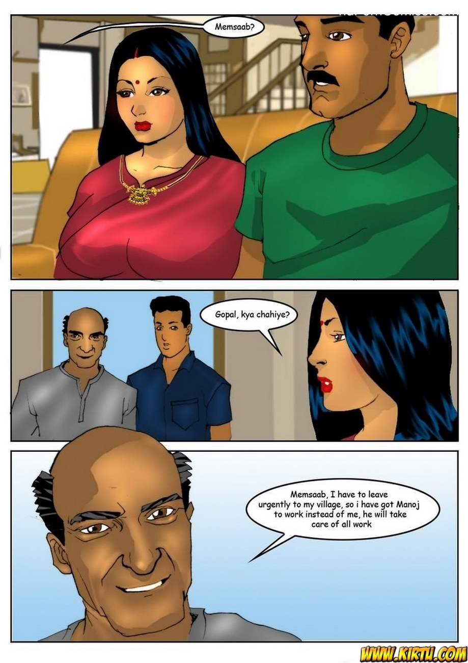 Savita Bhabhi 5 - Servant Boy 2 free sex comic