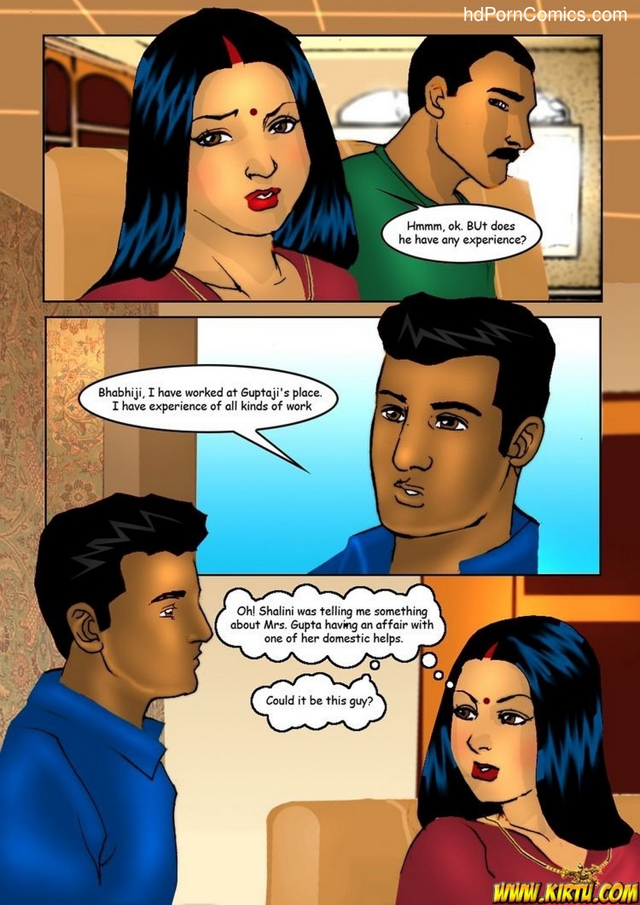 Savita Bhabhi 5 - Servant Boy 3 free sex comic