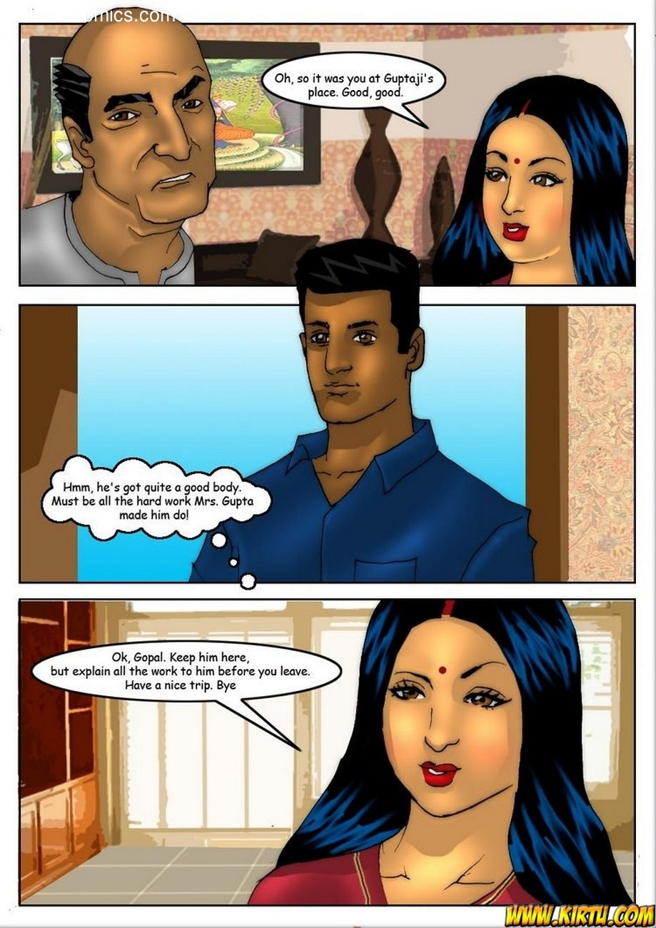 Savita Bhabhi 5 - Servant Boy 4 free sex comic