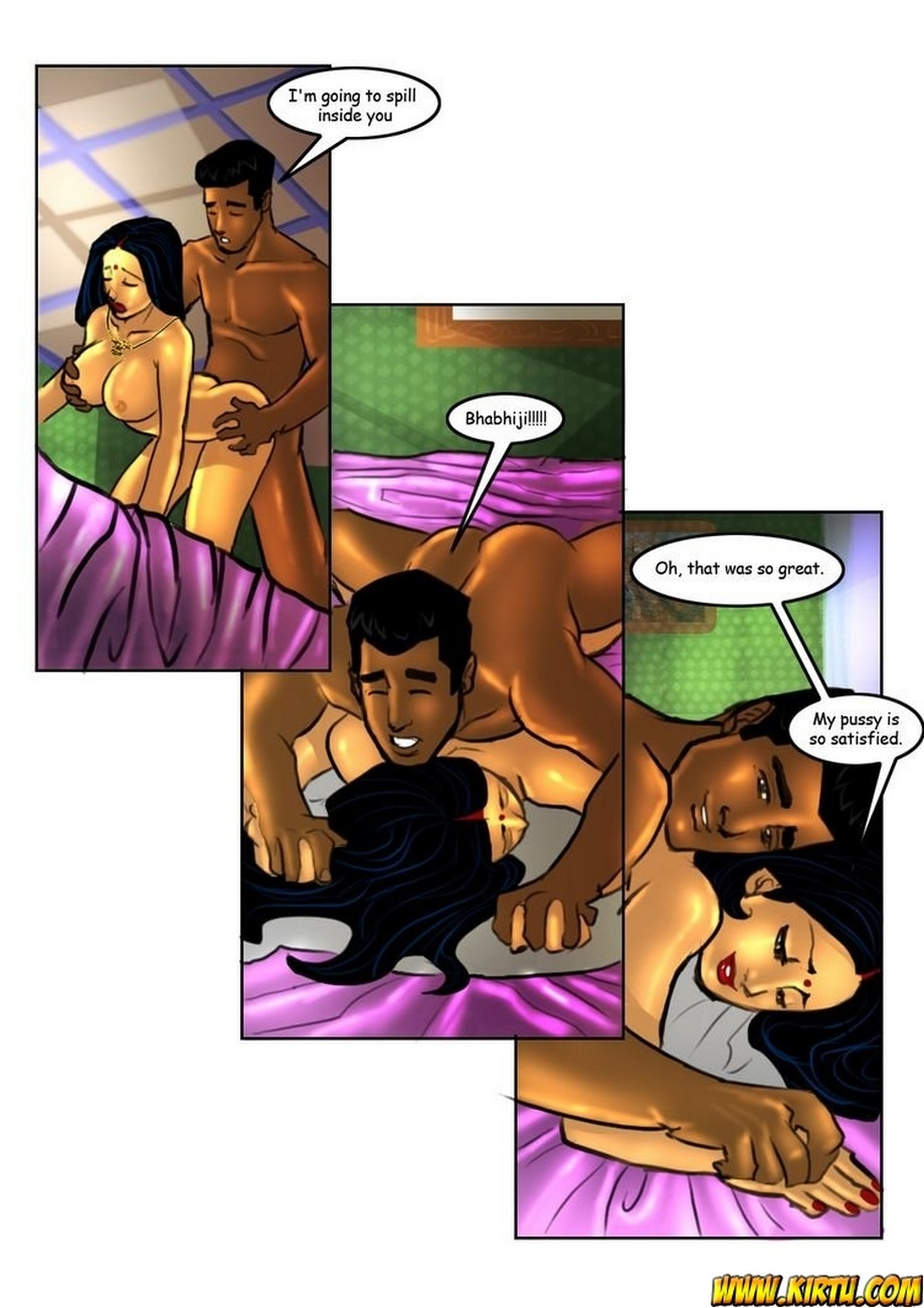 Savita Bhabhi 5 - Servant Boy 40 free sex comic
