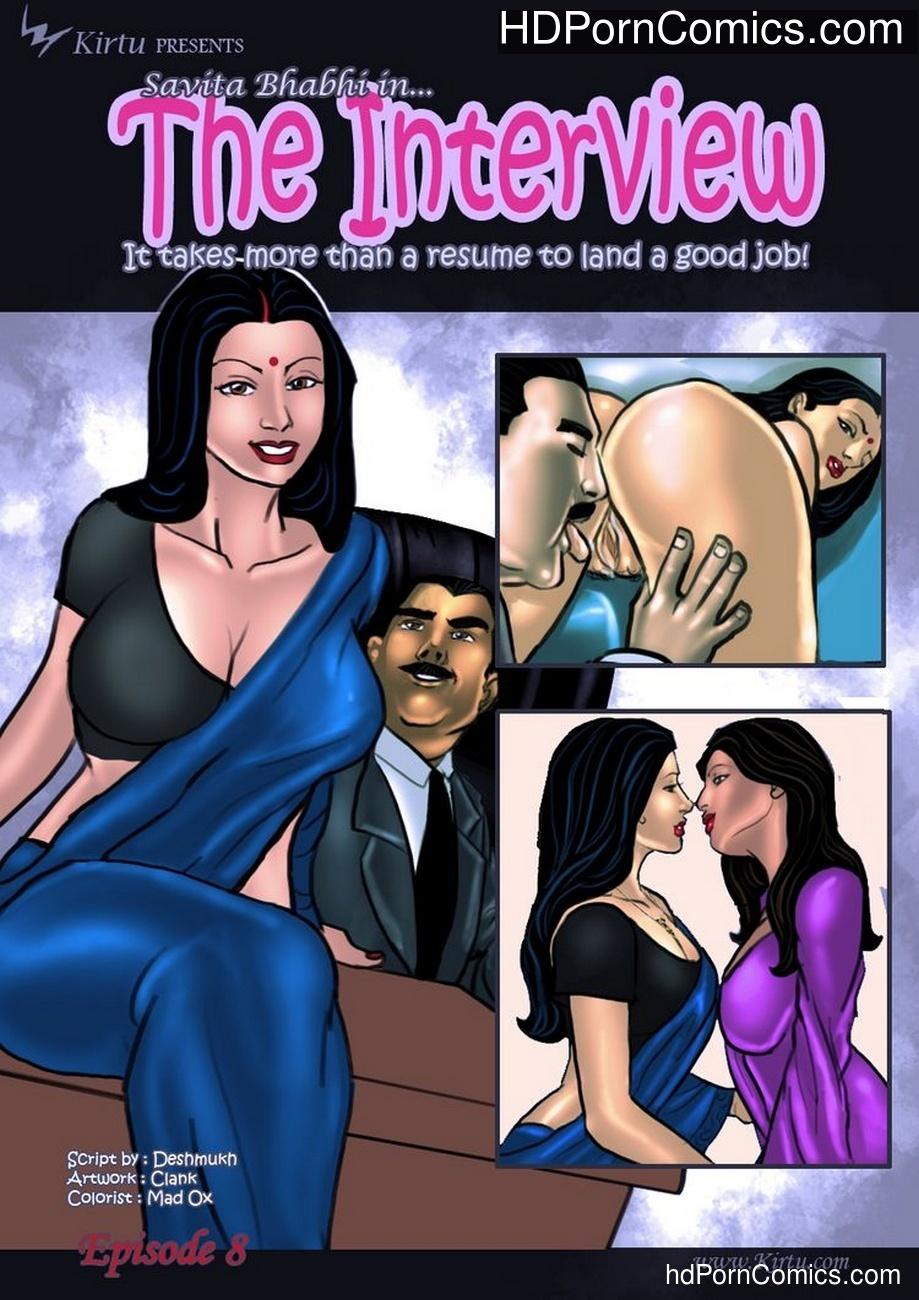 Savita Bhabhi 8 – The Interview Sex Comic