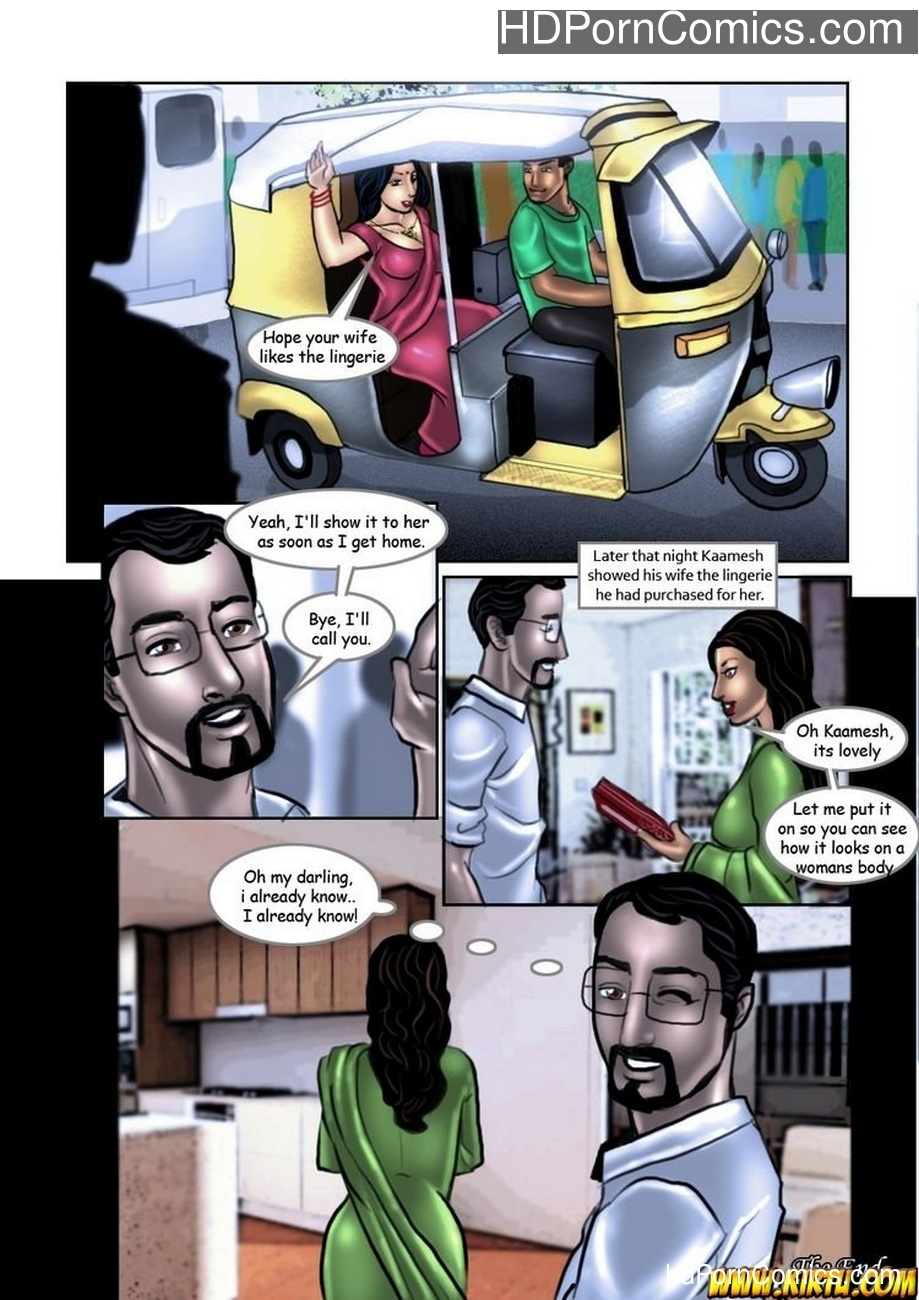 Savita Bhabhi 9 – Sexy Shopping Sex Comic