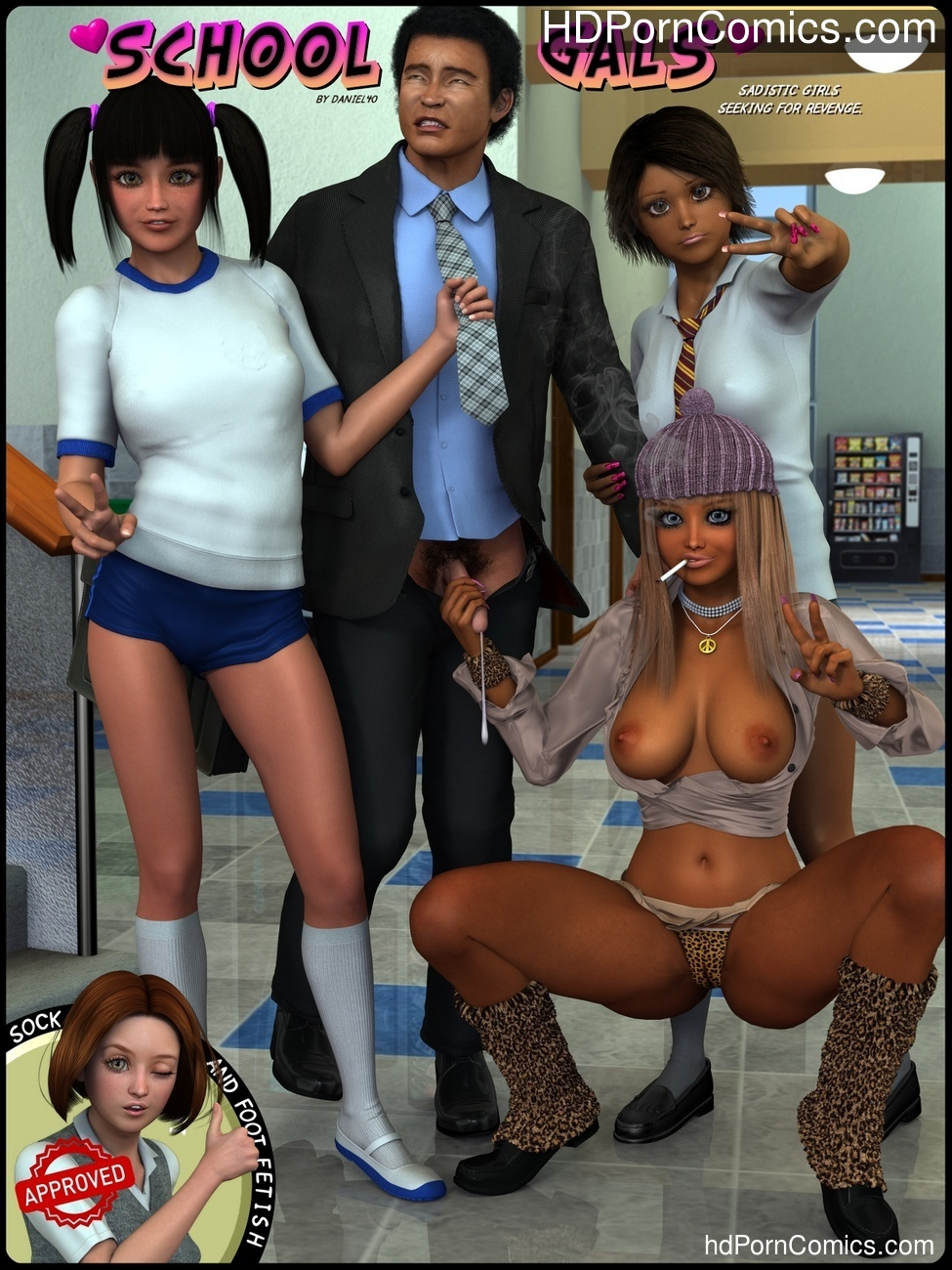 School Gals Sex Comic