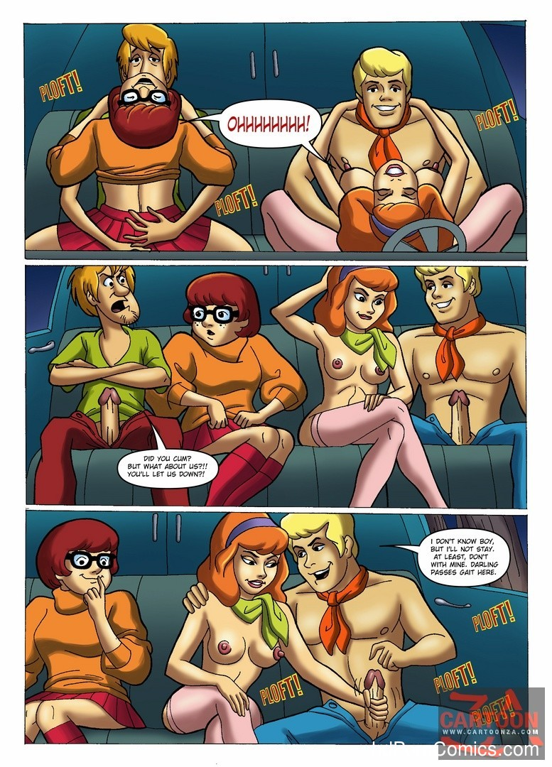 Fred sex daphne doo and scooby