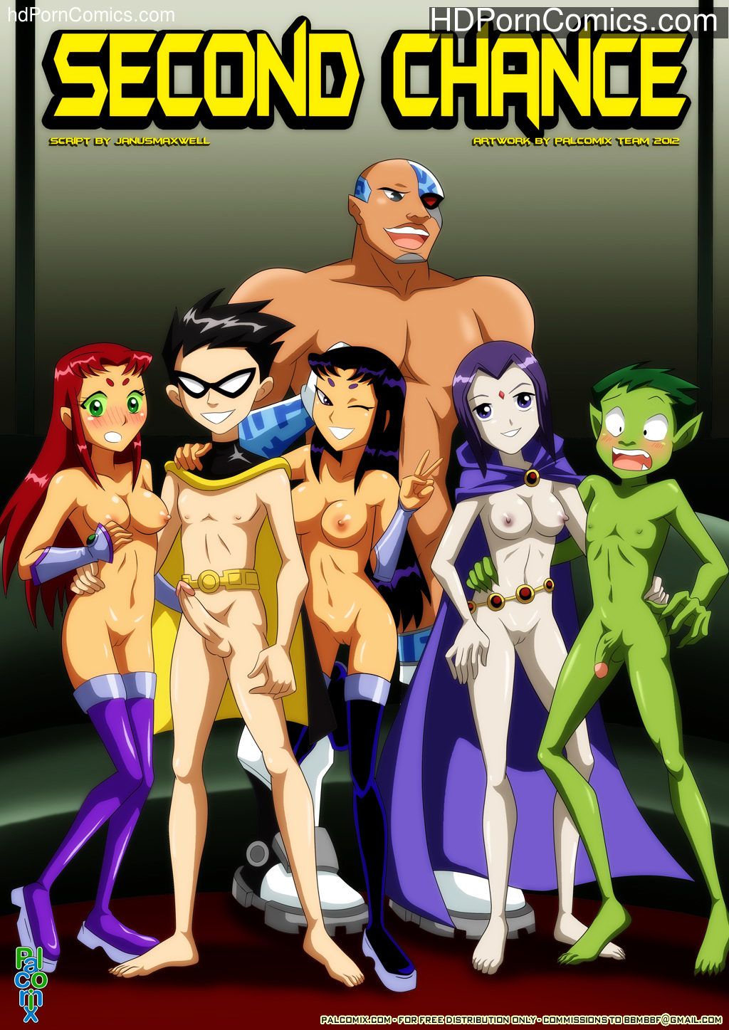 Second Chance (Teen Titans) – Porncomics free Porn Comic