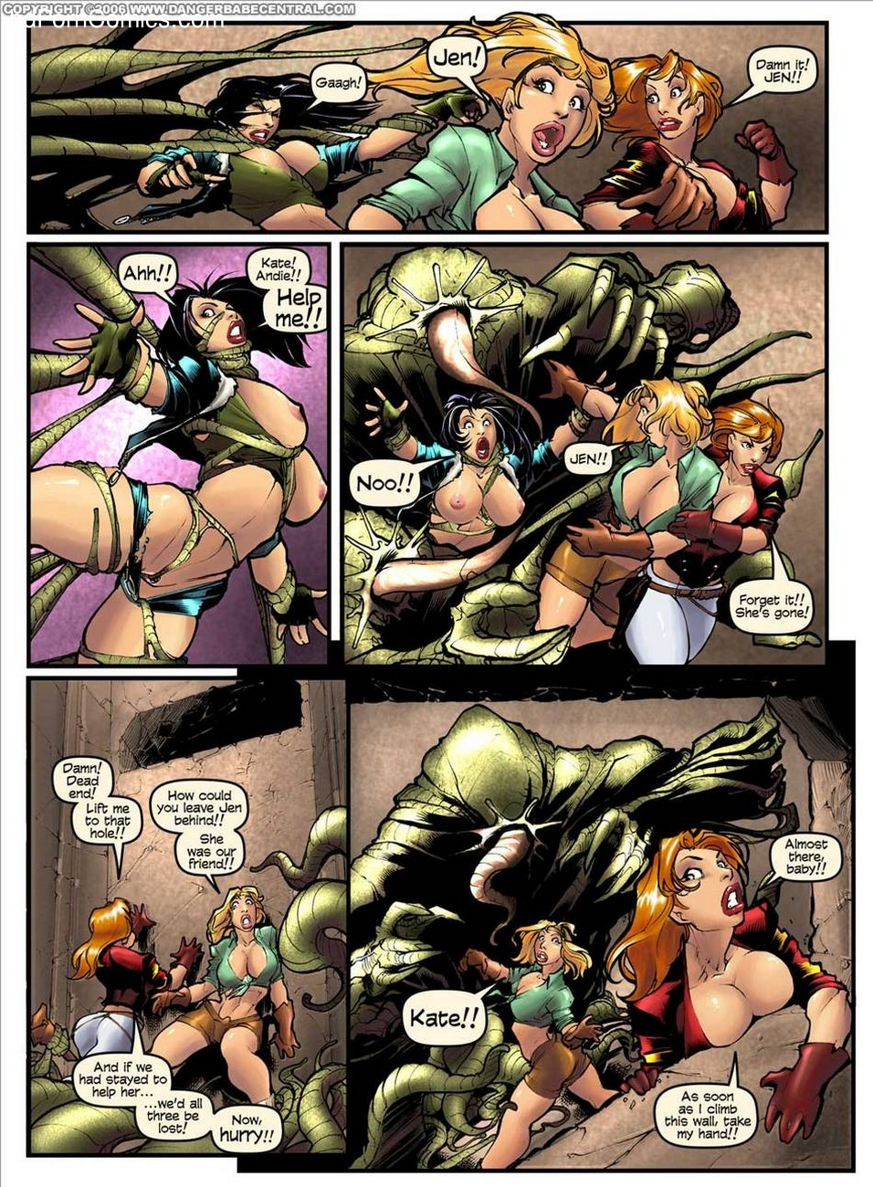 Sexy Seekers 1 - A Warm And Slimy Welcome 2 free sex comic