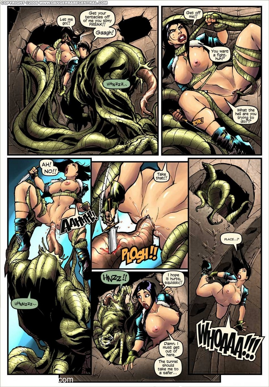 Sexy Seekers 1 - A Warm And Slimy Welcome 3 free sex comic