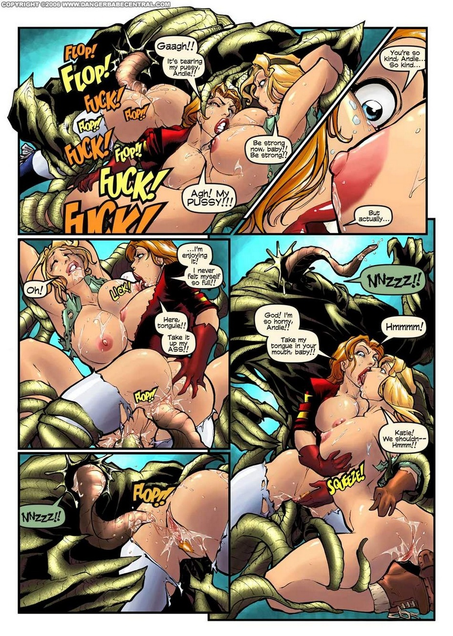 Sexy Seekers 1 - A Warm And Slimy Welcome 9 free sex comic