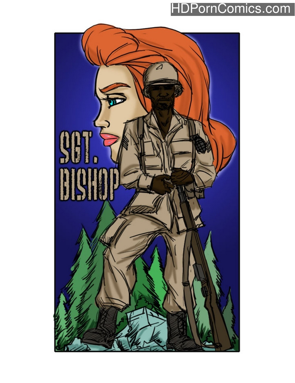 Sgt. Bishop comic porn