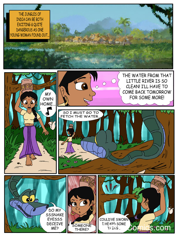 Cartoon Porn Comic Book - Shanti's Trust – The Jungle Book image number 1 Shanti's Trust – The Jungle  Book2 free sex comic