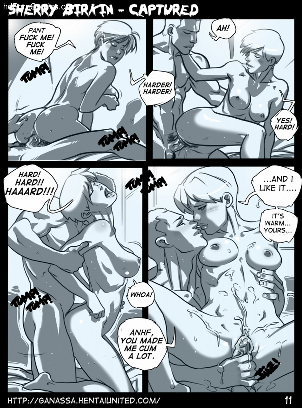 Sherry Birkin Captured 12 free sex comic