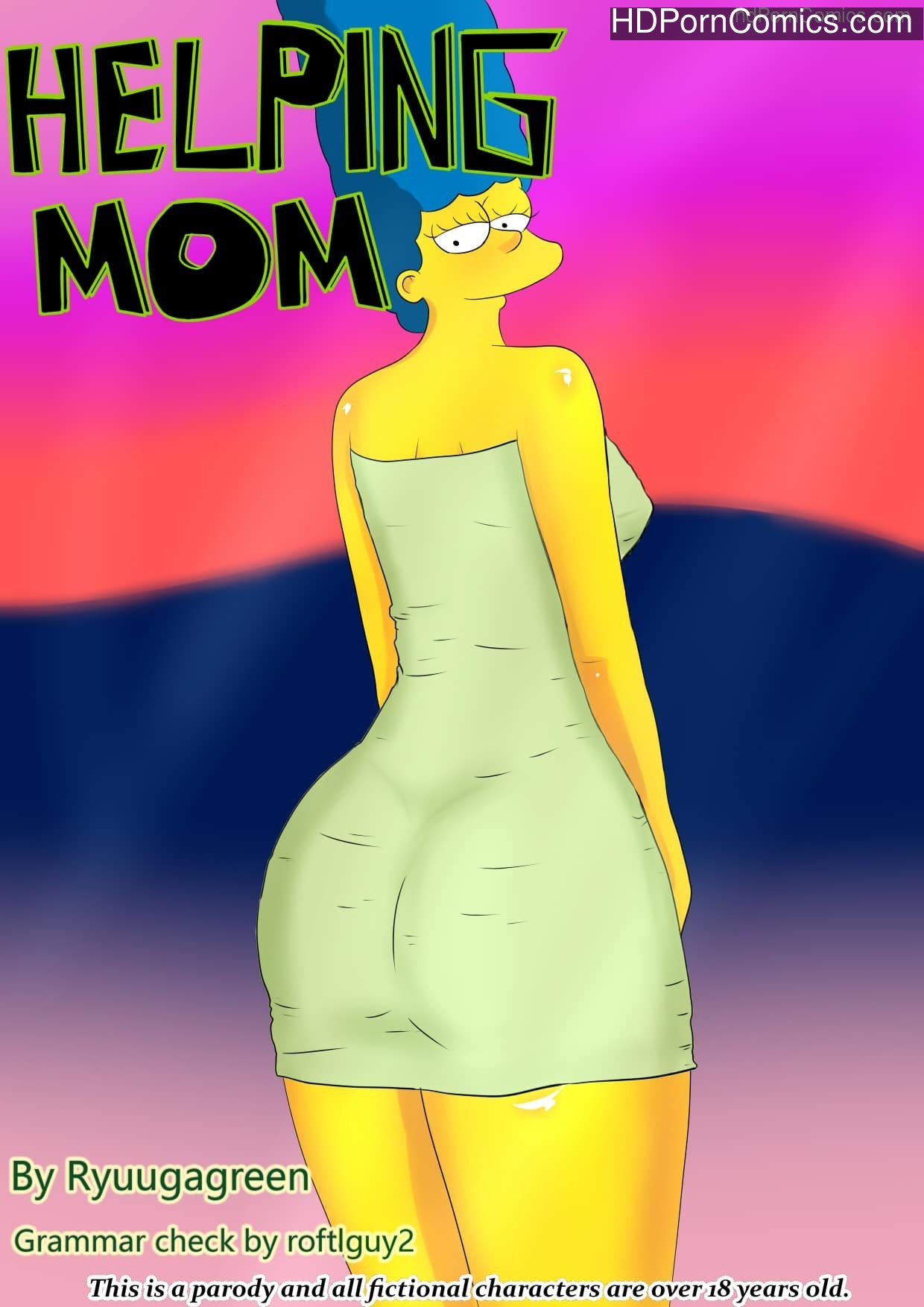Simpsons – Helping Mom free Porn Comic