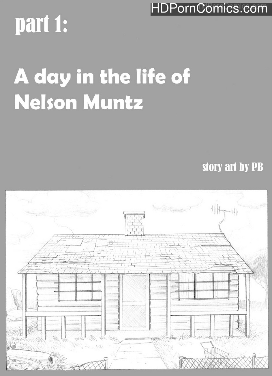 Simpsons – A Day In The Life Of Nelson Muntz Sex Comic