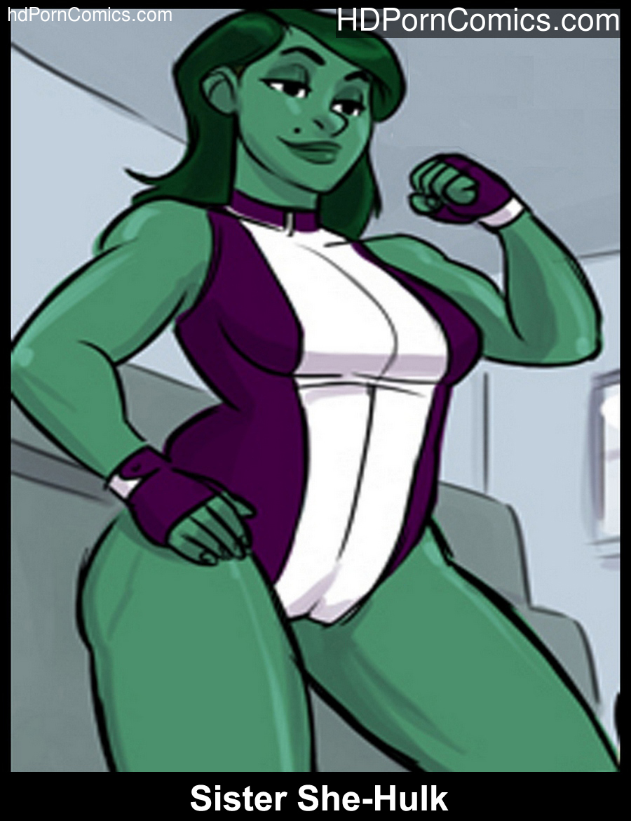 Sister She-Hulk Sex Comic