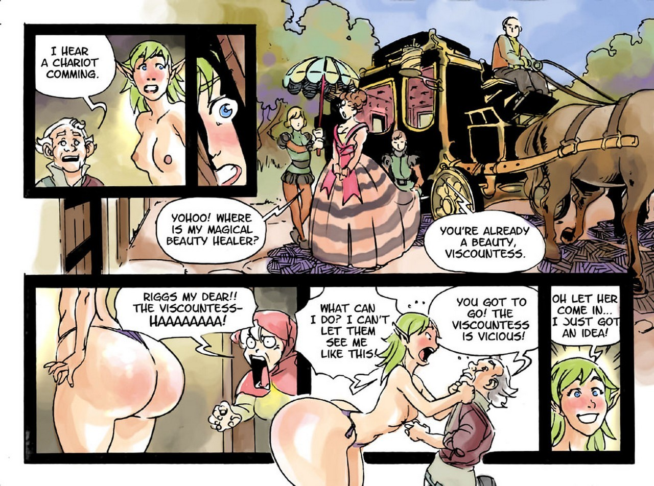 Slimy Thief 12 free sex comic