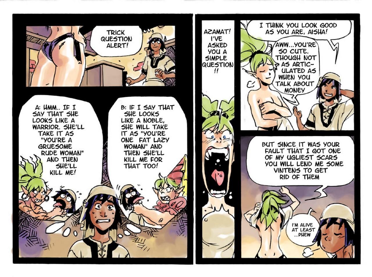 Slimy Thief 4 free sex comic