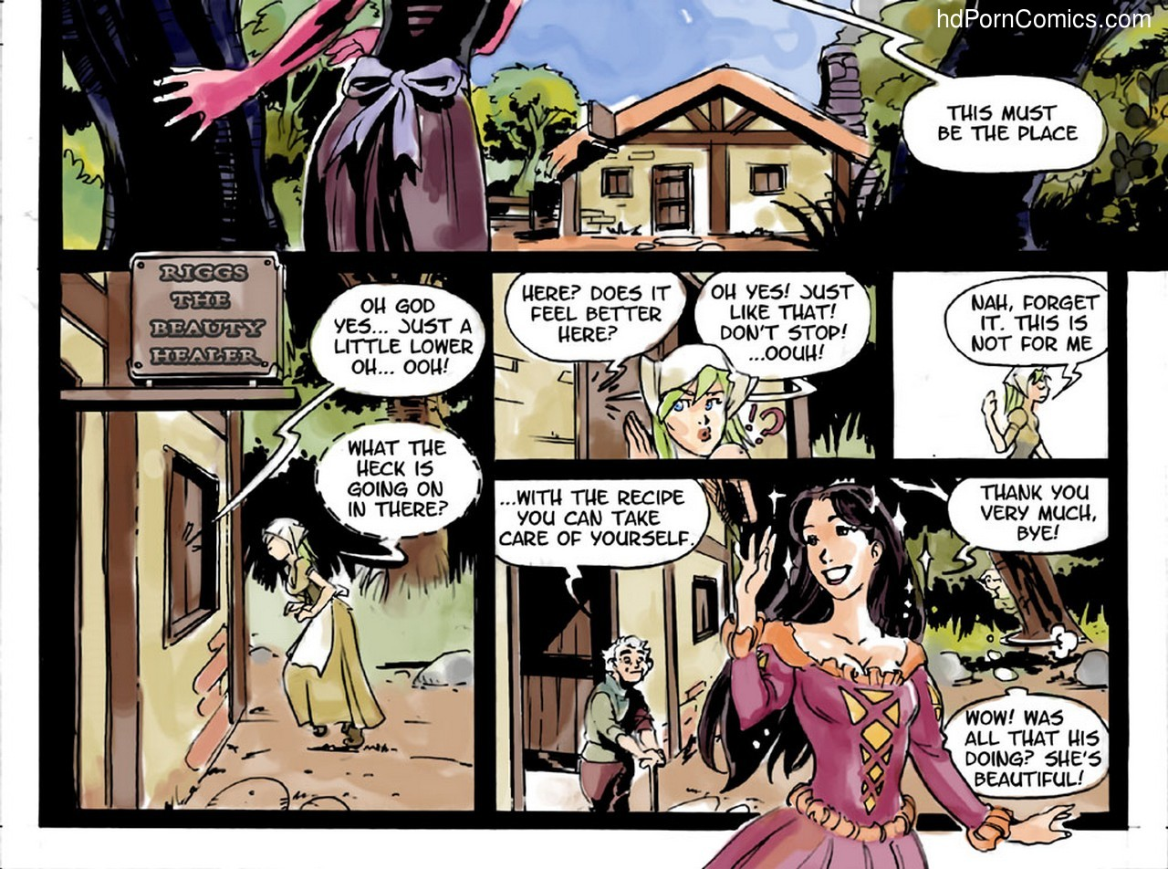 Slimy Thief 5 free sex comic