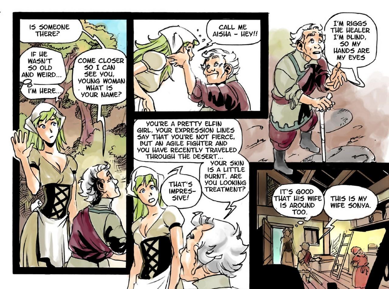 Slimy Thief 6 free sex comic