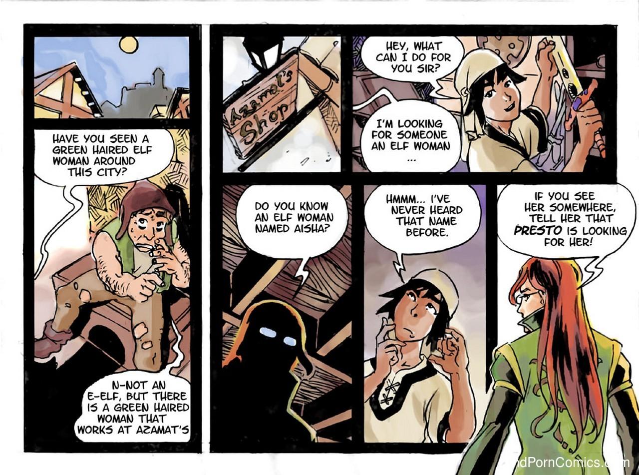 Slimy Thief 7 free sex comic